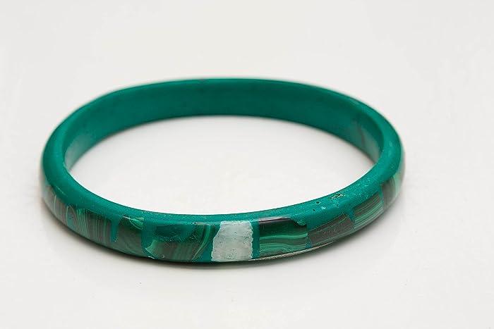 Jewelry & Watches Malachite Bangle Bracelets