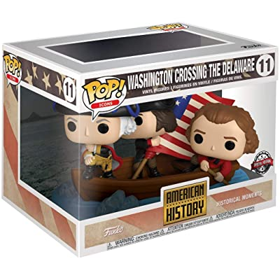 Funko Pop! History Washington Crossing The Delaware #11 Target Exclusive: Home & Kitchen