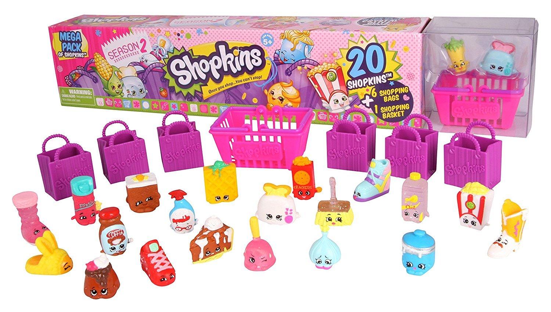 Amazon Shopkins Season 2 20 Mega Pack In Tube Toys Games
