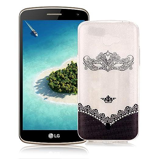 21 opinioni per OuDu Cover Trasparente per LG K5 Custodia TPU Silicone Cassa Gomma Soft Silicone