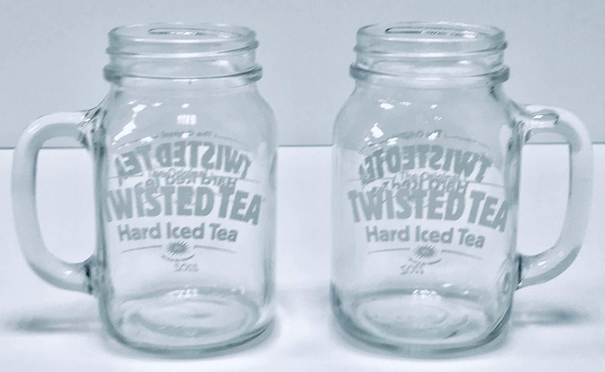 Twisted Tea 22oz Mason Jar Mugs | Set of Two (2) by Twisted Tea (Image #2)