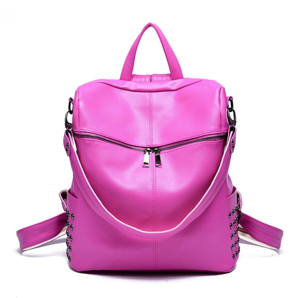 Dame Mode Persönlichkeit Nieten Lässig Rucksack Schüler Schultasche Schulter Schulter Schulter Handtasche B076N3DL7R Rucksackhandtaschen Qualifizierte Herstellung bfdb05