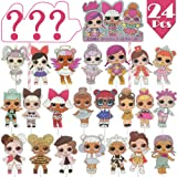 Amazon.com: LOL 24pcs Cupcake Toppers Girls Topper Set ...