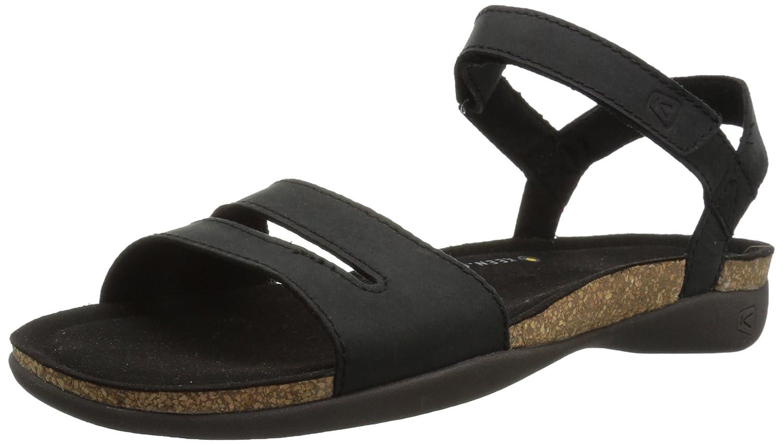 KEEN Women's Ana Cortez W Sandal B071YDVCWW 5 B(M) US|Black/Black