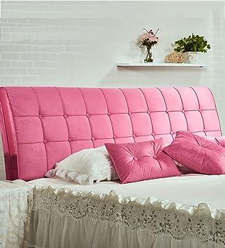 kkcfdian algodn cama cojines mesilla softbag respaldo almohada cama cabecero de cama grande cojn lavable