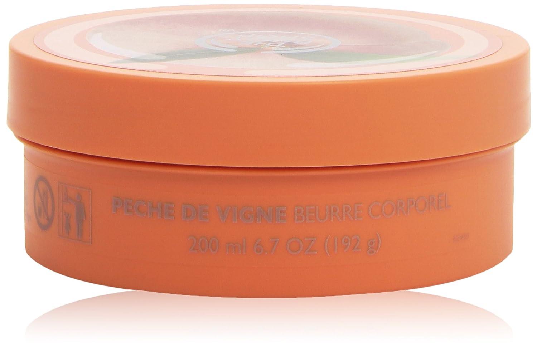 Il unisex Body Shop Burro per il corpo Vineyard Peach, Vigneto Peach Burro Corpo 200 ml, 1-pack (1 x 200 ml) KBH0808