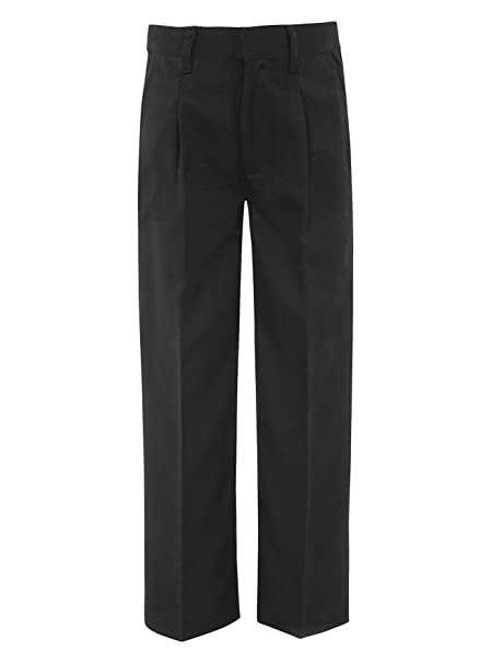 02e7e328b6c85 Pantalones de cintura elástica escuela  Amazon.es  Ropa y accesorios