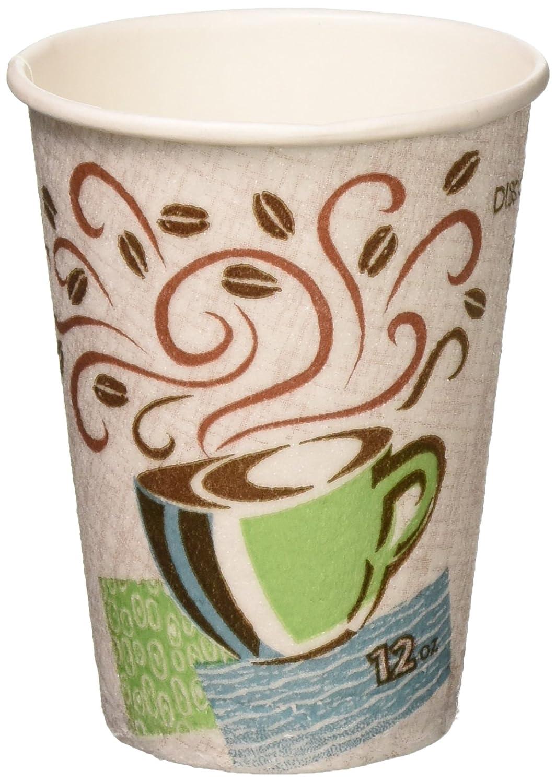 Dixie Perfectouch caliente desechables vasos, tazas de 12 oz/50 Count