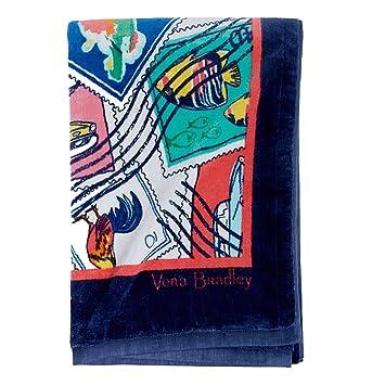 Vera Bradley toalla de playa (Cuban sellos toallas de baño: Amazon.es: Hogar