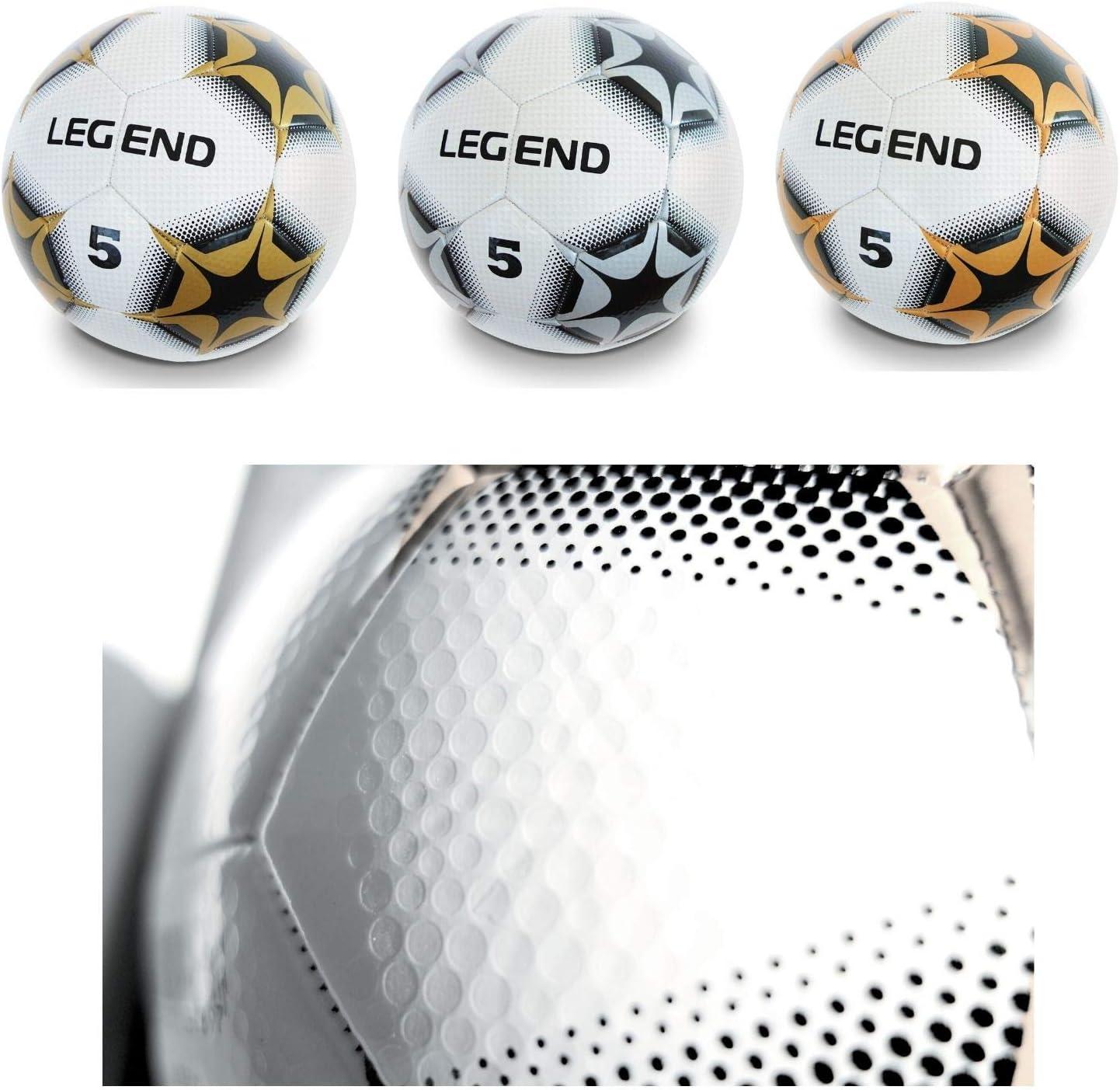 Mondo - Legend, balón de fútbol, Hecho de Cuero (13989.2): Amazon ...