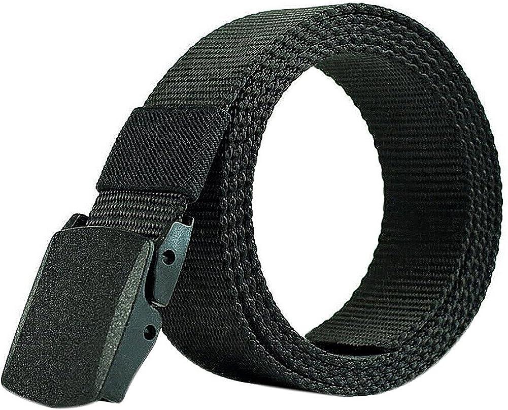 LAMEIDA Cinturón de lona de Hombre Cinturones Tácticos Ocasionales ...