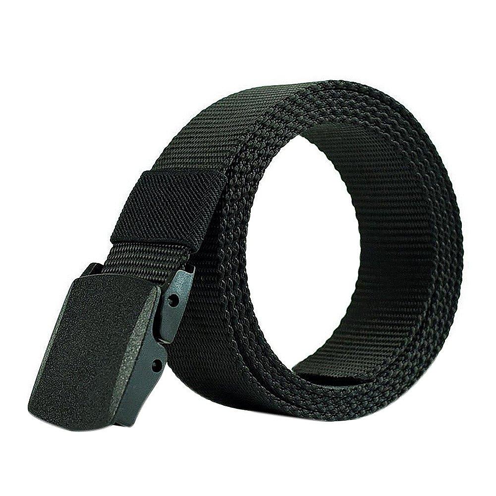 doitsa cinturón de tela tela para hombre y mujer Durable cinturón entrenamiento Sports de Plein Air pas de cinturón de agujero,…