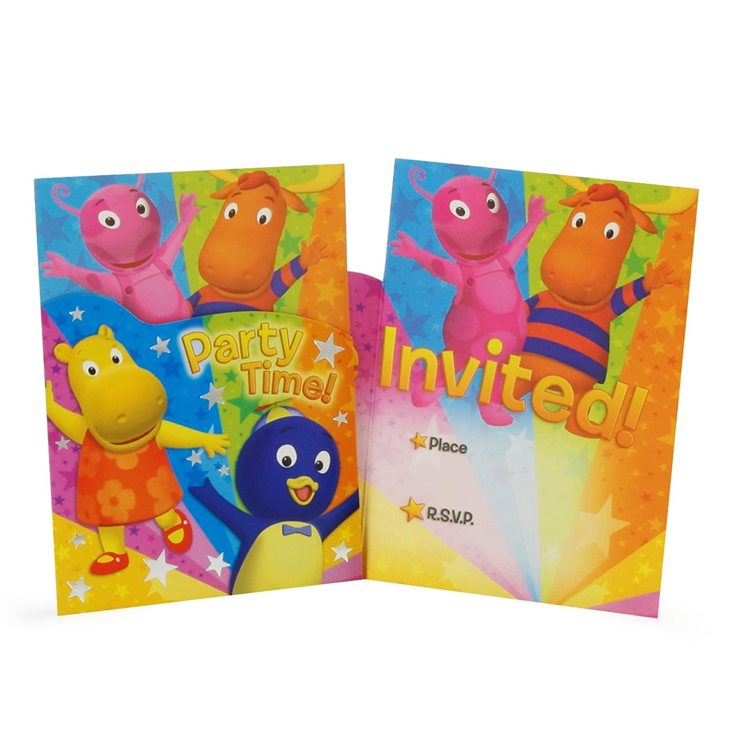 American Greetings The Backyardigans Die Cut Invitations
