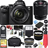 Sony Alpha 7II Mirrorless E-mount Camera with Full Frame Sensor and FE 28-70mm F3.5-5.6 OSS Lens SEL2870 + 64GB SDXC Memory Kit + Spare Battery Accessory Bundle