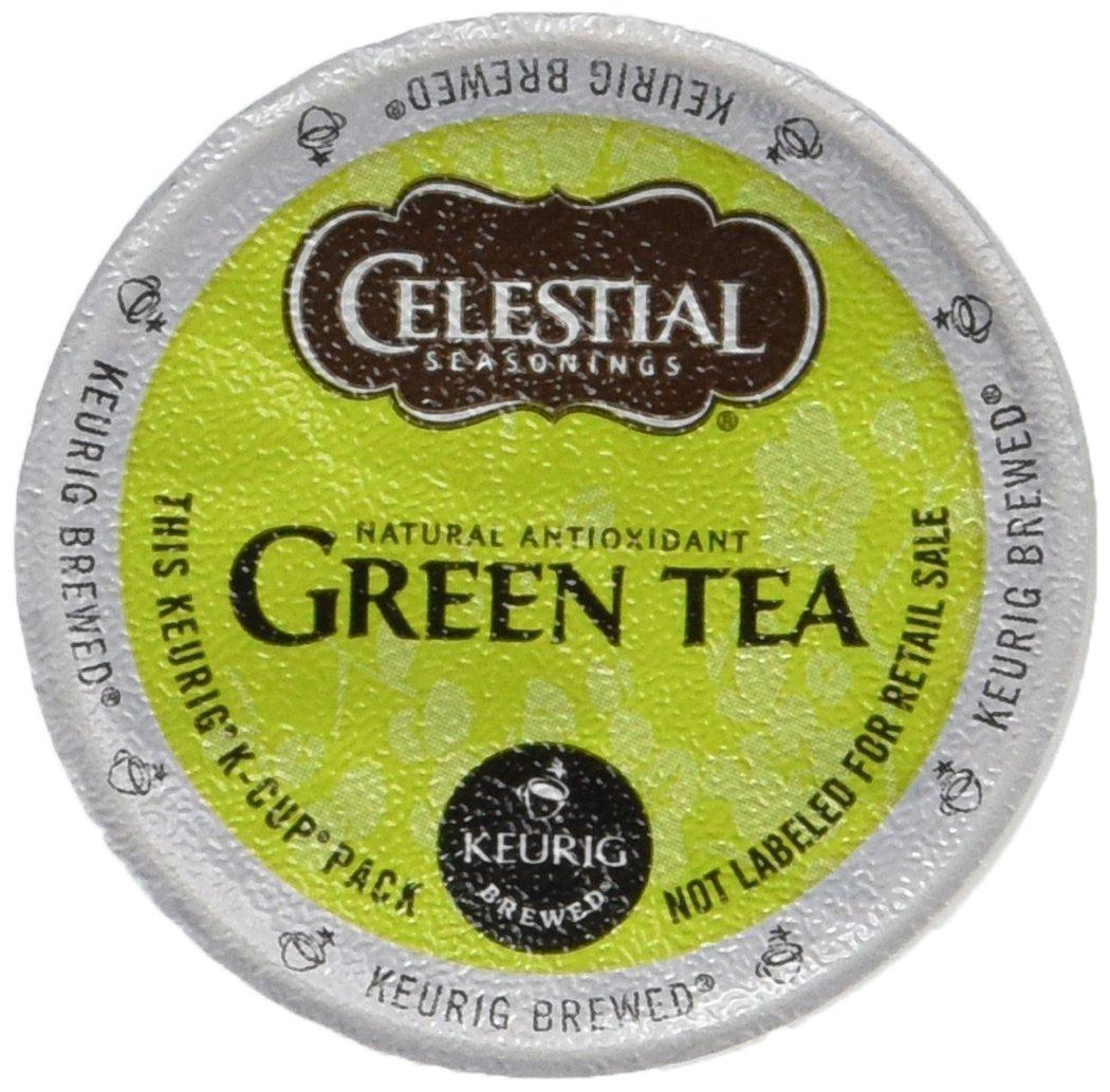 Keurig, Celestial Seasonings, Natural Antioxidant Green Tea, K-Cup packs, 30 Count by Celestial Seasonings