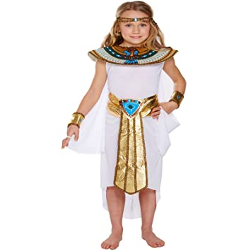 Egyptian Princess Kids Childrens Girls Cleopatra Nile Queen Fancy Dress Up Costume Halloween Book Week Outfit  sc 1 st  Amazon UK & Egyptian Princess Kids Childrens Girls Cleopatra Nile Queen Fancy ...