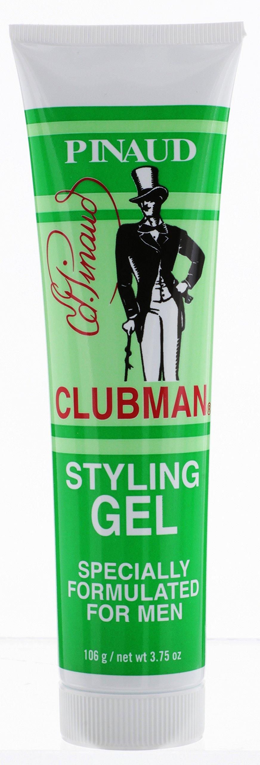 Clubman Pinaud Styling Gel Hair Groom for Men, 3.75-Ounce