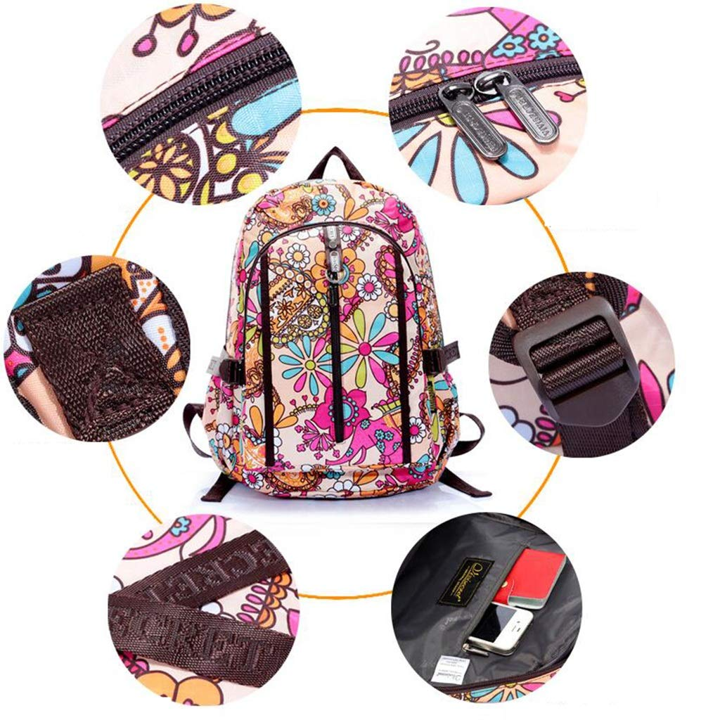 lixin Bolsa de Viaje Bolsa Bolsa Bolsa de Estudiante Bolsa de Viaje de Gran Capacidad (Color : A, Tamaño : 40  30  17CM) b04d77