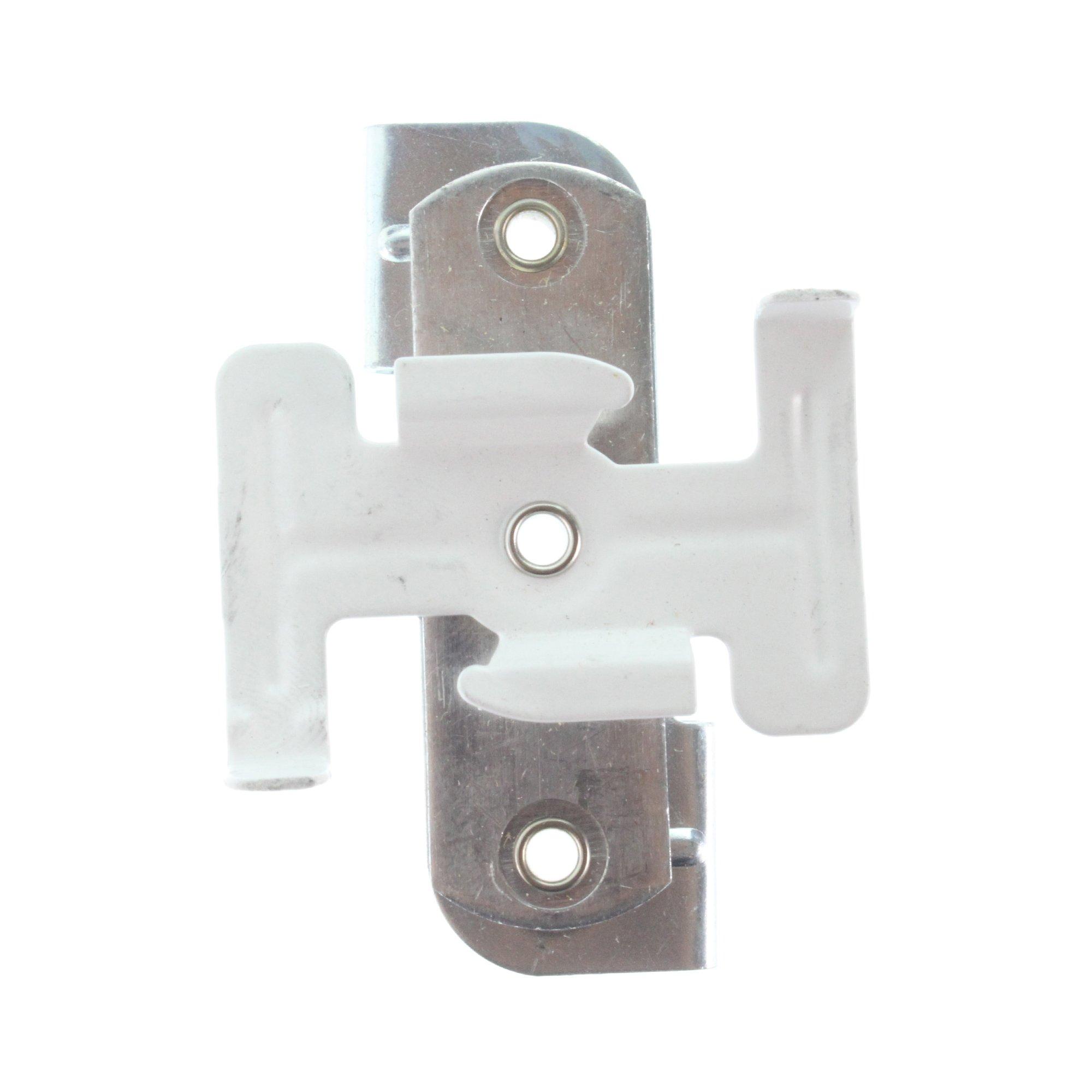 Lightolier 6089 Lytespan Track Lighting 9/16'' & 15/16'' Grid Ceiling Clip Kit, WHite