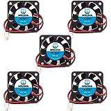 WINSINN 3010 4010 12 V 24 V DC silencioso Ventilador de refrigeración 30 x 30 x 10 mm 40 x 40 x 10 mm para Bricolaje 3D Impresora Extractor Hotend V6 V5 Makerbot MK7 MK8 CPU Arduino 4010 24V