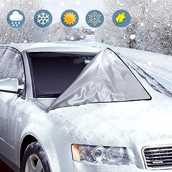 AUTO Dischi Anteriore Copertura gelo copertura PARABREZZA Inverno Protezione Solare
