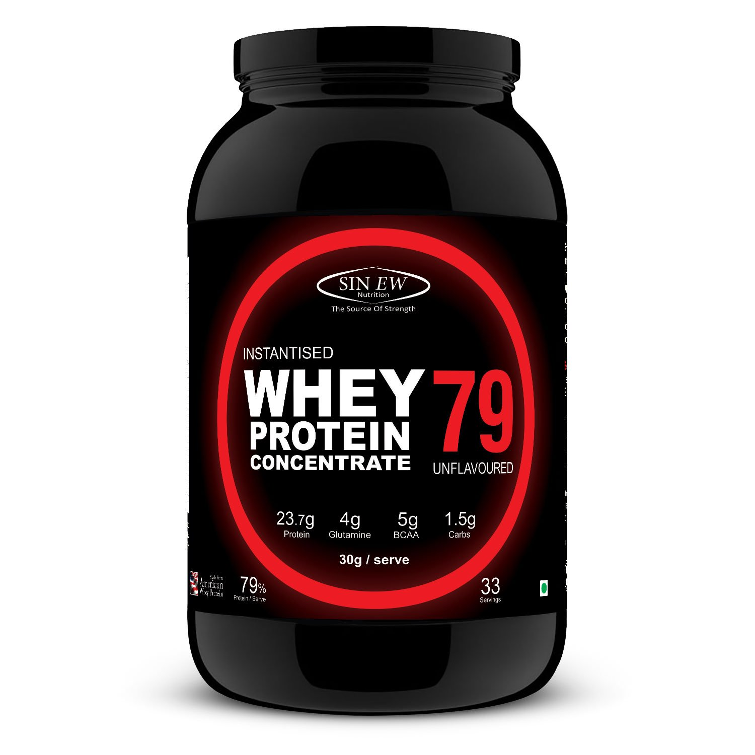 Sinew Nutrition Instantised Whey Protein Concentrate 79%, 1