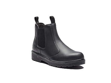Dickies Schuhe Sicherheitsstiefel Super Safety Dealer S1-P SmthBkLthr-42