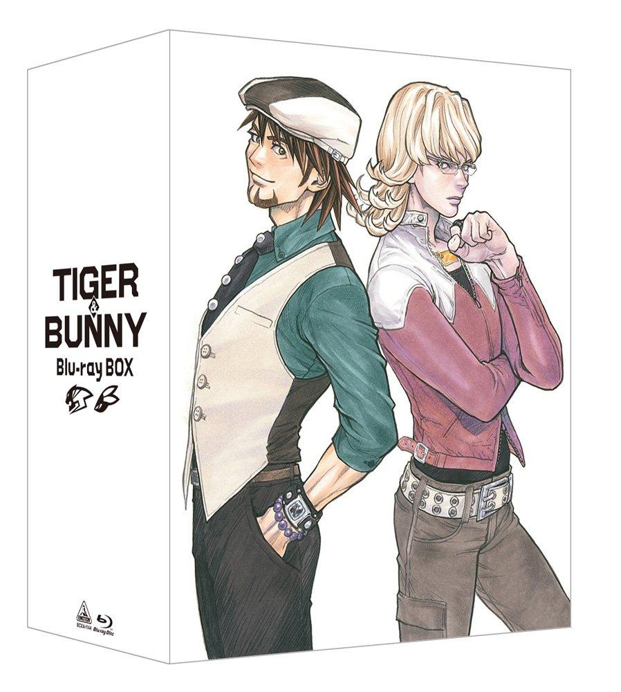 【Amazon.co.jp限定】 TIGER & BUNNY Blu-ray BOX (新規描き下ろし特製A4フレーム<虎徹&バーナビー>付) B01DKJ52QO