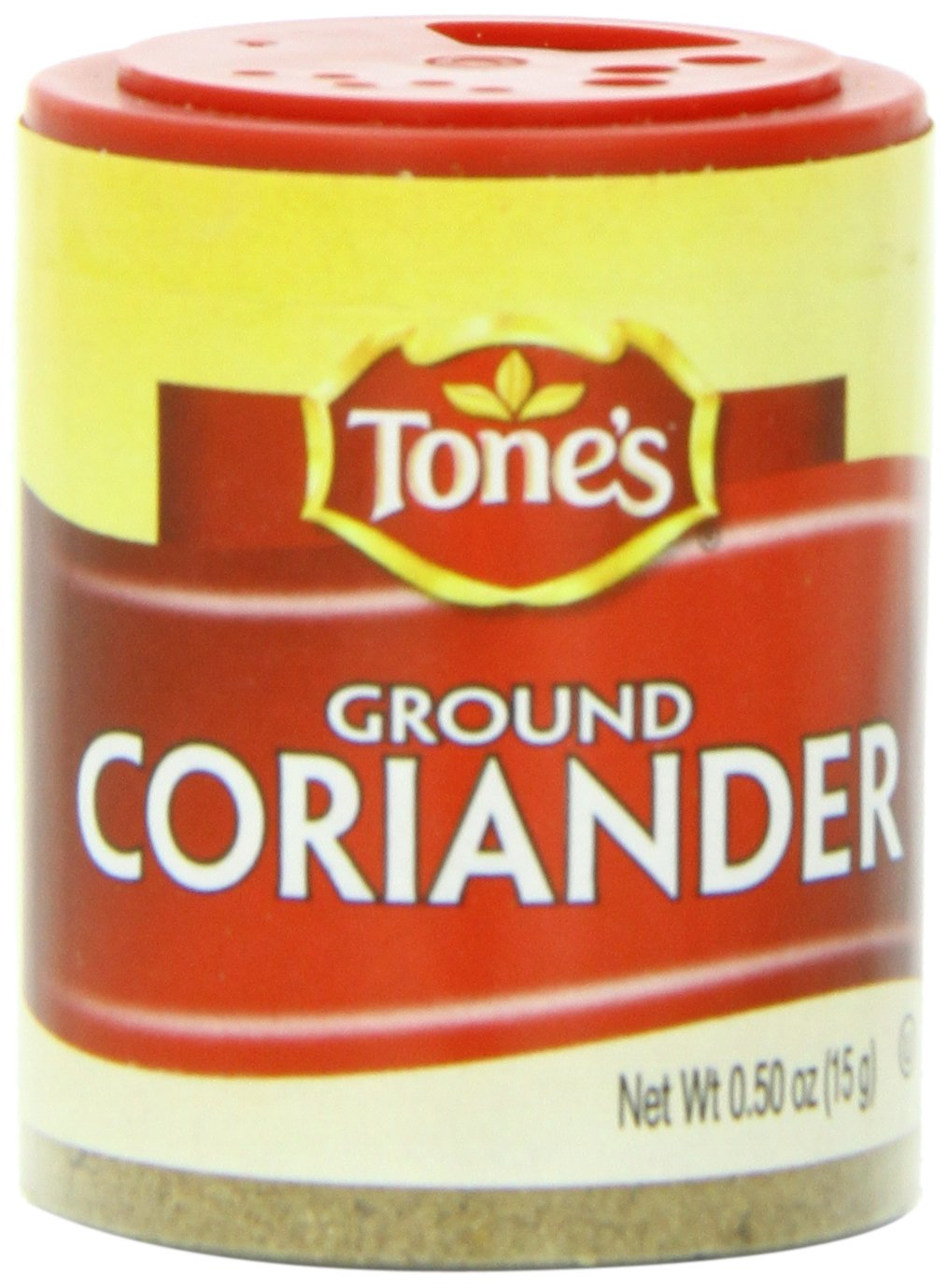 Tone's Mini's Coriander, Ground, 0.50 Ounce (Pack of 6) by Tone's (Image #1)