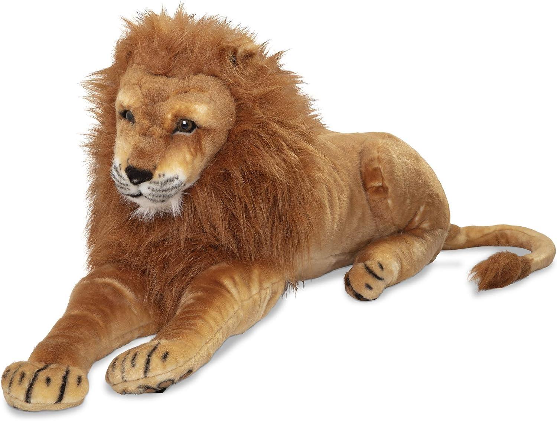 Scary Squeeze Stuffed Animals, Amazon Com Melissa Doug Large Stuffed Lion Melissa Doug 2102 Toys Games