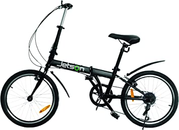 Jetson Bicicleta plegable de 24 pulgadas, rueda de 7 velocidades ...