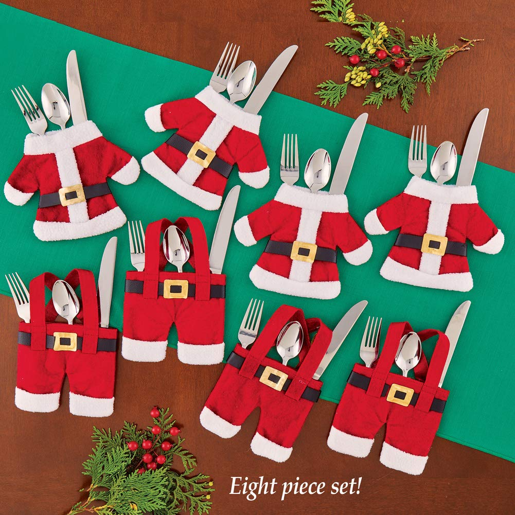 S6 Santa Flatware Holders by Collections Etc (Image #2)