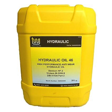 Aceite hidráulico ISO 46 de 20 litros: Amazon.es: Coche y moto
