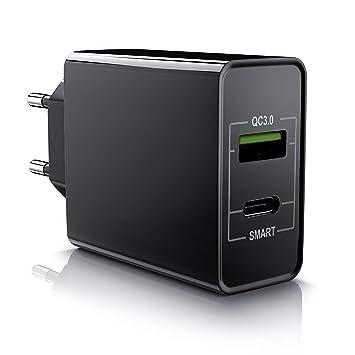Aplic - Cargador USB de 2 puertos 33W QC 3.0 (USB tipo A / C