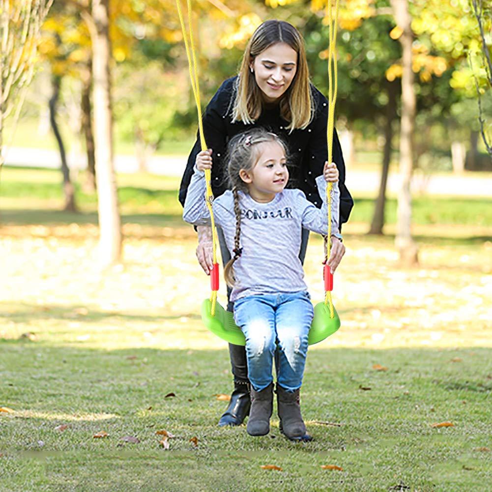 yoptote Ersatzschaukel für den Garten, für Kinder im Freien, Seilschaukel ist verstellbar, leicht, Gartenspielzeug für Mädchen und Jungen ab 3 Jahren