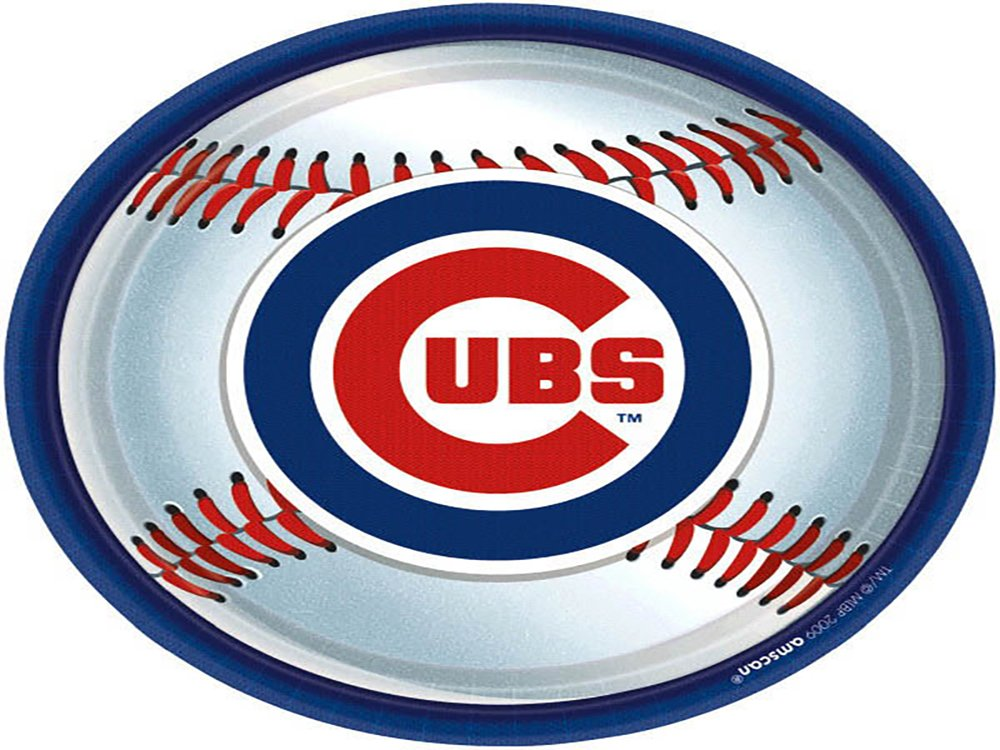 Amscan Licensed Mlb Chicago Cubs Luncheon Napkins Paper 9'' Pack 18 Others Party Supplies (216 Piece) by Amscan