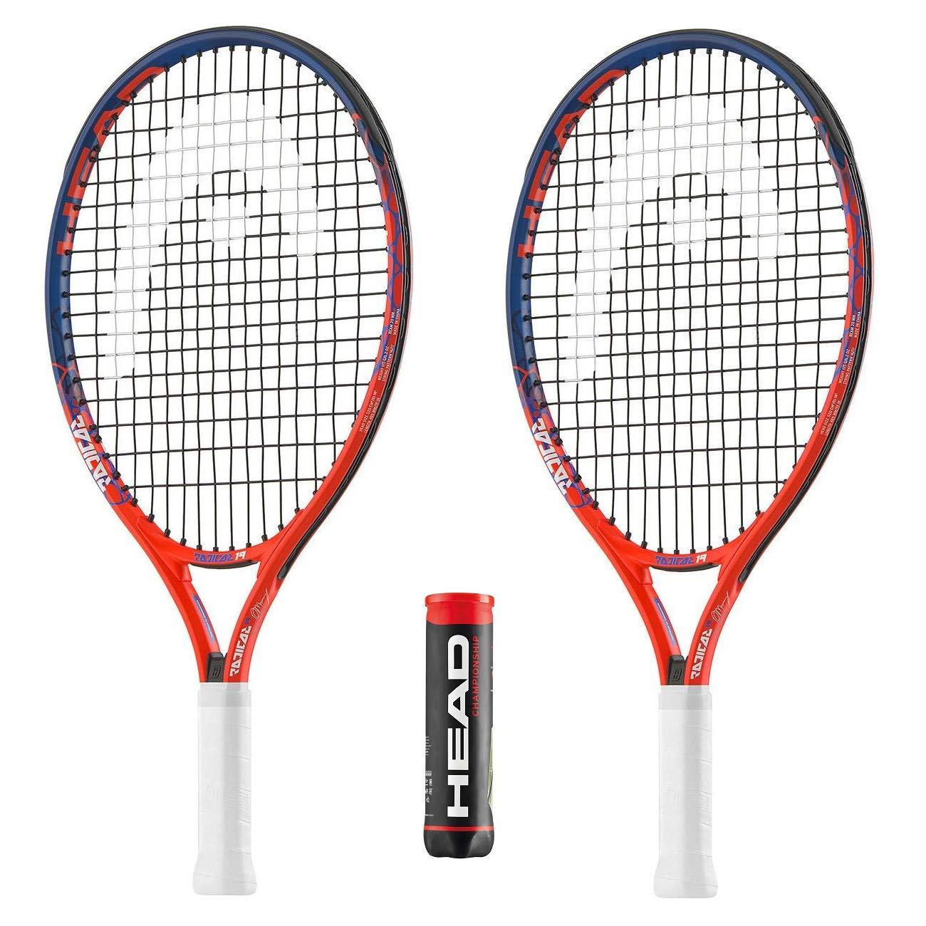 Head - 2 Raquetas de Tenis y 1 Lata de 4 Pelotas de Tenis de ...