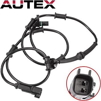 2 ABS Wheel Speed Sensor Front Left/&Right For 4WD Dodge Ram 2500 3500 2000-2002