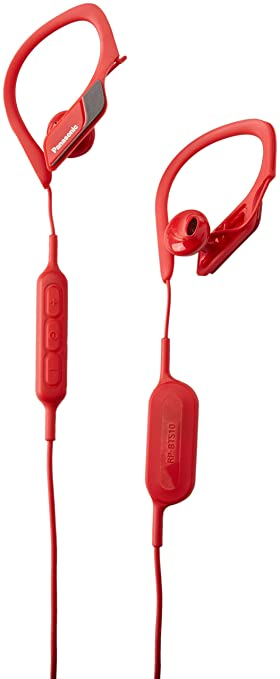 Panasonic Wings Dentro de oído Binaural Inalámbrico Rojo: Amazon.es: Electrónica