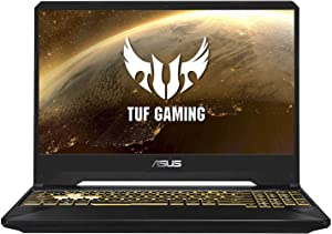 "ASUS TUF Gaming TUF505DU-KB71 (AMD Ryzen 7 3750H, 8GB RAM, 256GB NVMe SSD + 1TB SSHD, GTX1660Ti 6GB, 15.6"" Full HD, Windows 10) Gaming Notebook"