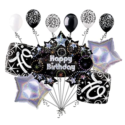 Amazon 11 Pc 70th Happy Birthday Balloon Decoration Party