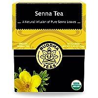 Buddha Teas Organic Senna Tea 18 Bleach Free Tea Bags Natural Laxative To Use As-Needed, Antioxidants, Kosher, Caffeine…