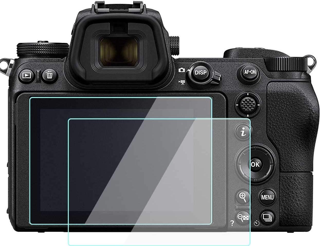 Komet Protector de Pantalla de Cristal Compatible con Nikon Z6 Z7 ...