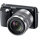 Sony NEX-F3K/B 16.1 MP Mirrorless Digital Camera with 18-55mm Lens (Black)