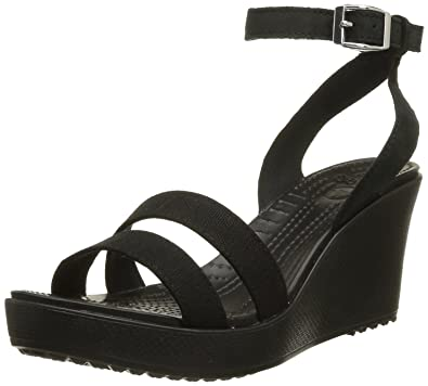 73ca973674f19 Crocs Women's Leigh Wedge Sandal