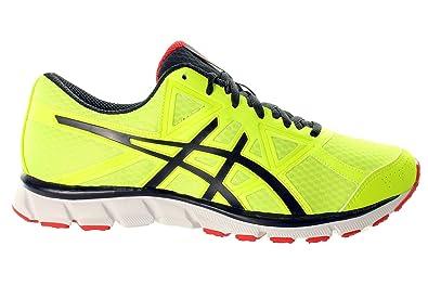 Asics Mens Running Shoes Flash Yellowblackchinese Red Amazonco