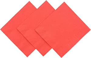 Royal Red Beverage Napkin, Package of 200