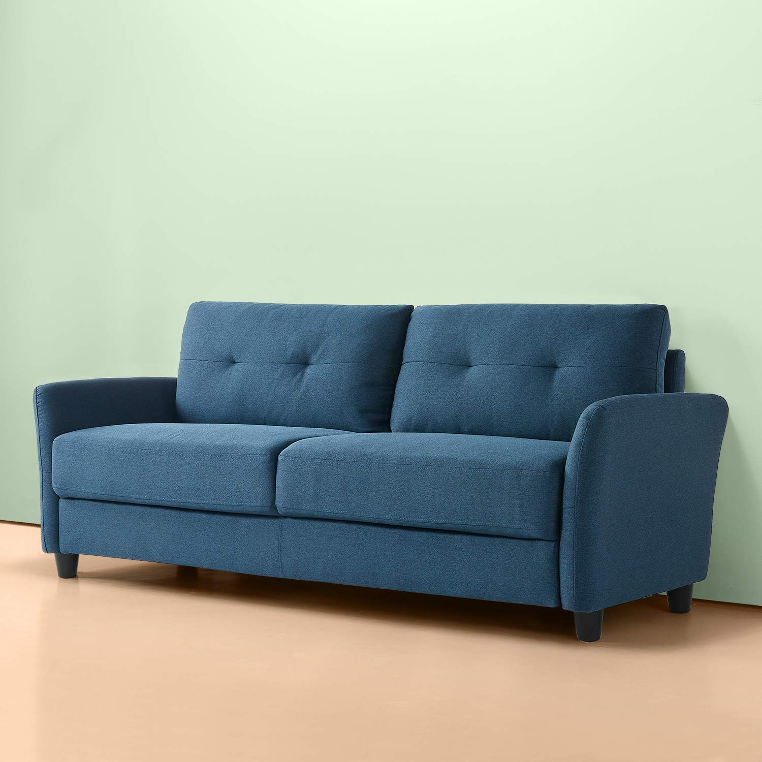 Zinus Ricardo Contemporary Upholstered 78.4 Inch / Living Room Couch