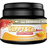 Dennerle Guppy & Co. Booster Fish Food 100 ml for Guppies, Platies & Mollies