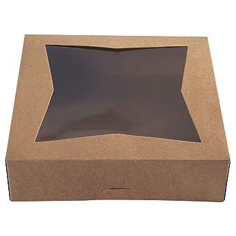 One More cajas de panadería para galletas de 9 pulgadas, cajas de ...